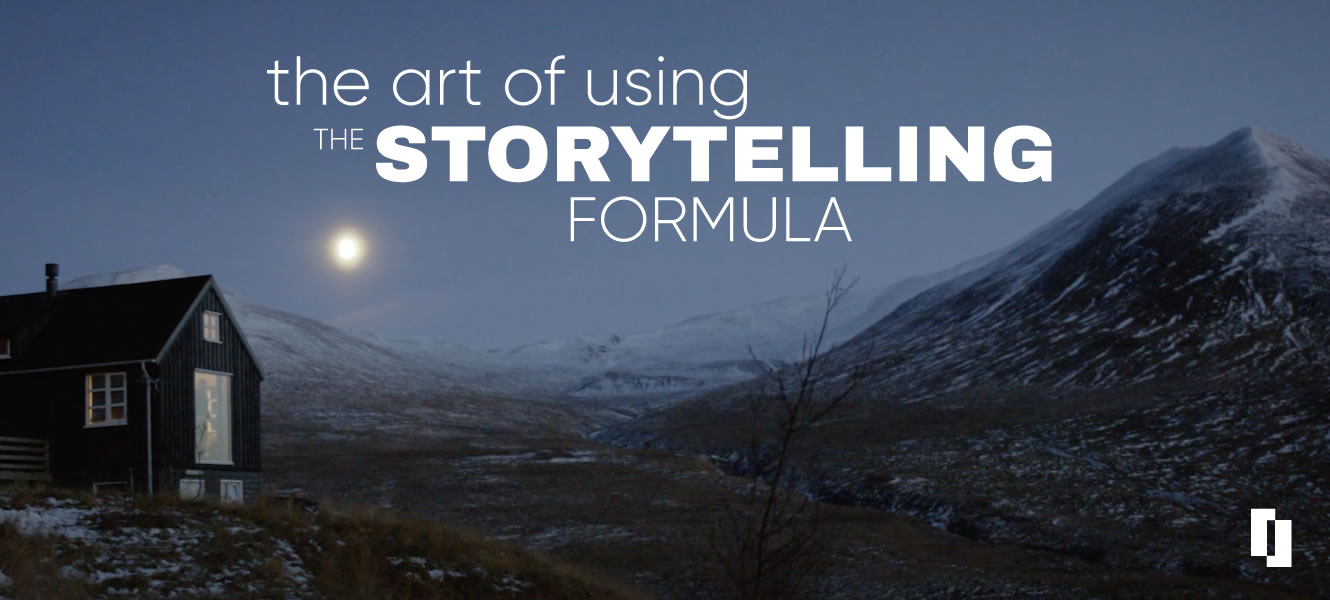 The art of using the storytelling formula